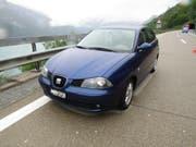 Die Kantonspolizei St. Gallen sucht diesen blauen Seat. (Bild: Kapo St. Gallen)