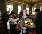 Manuela Weichelt-Picard wurde zur Frau Landammann gewählt. (Bild: Stefan Kaiser (Zug, 15. Dezember 2016))