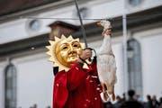 Tradition pur: die Gansabhauet in Sursee.Bild: Eveline Beerkircher (11. November 2016)