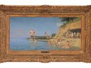 """Albert Ankers """"Das Bad in Crêt"""" von 1888 hat an einer Auktion in Luzern einen Preis von über 2 Millionen Franken erzielt (Bild: Galerie Fischer)"""