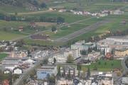 Blick auf den Flugplatz Kägiswil. (Bild: PD)