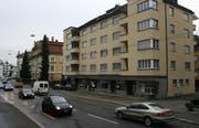 Die verwaiste Busbucht bei der ehemaligen Haltestelle Rotseestrasse. (Bild Dave Schläpfer/Zisch)