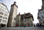 Das Rathaus in Luzern (Archivbild/Manuela Jans)