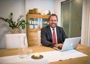 Johannes Ruchti hat die Bestattungsplaner GmbH im März dieses Jahres gegründet. (Bild: Roger Grütter (Kriens, 22. August 2017))