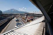 Ein Fan-Perron beim Güterbahnhof kommt nicht. (Bild: Archiv Neue LZ)