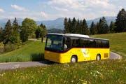 Das Postauto auf der Strecke Wolhusen-Romoos (Bild PD)