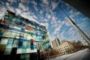 Einblick in den Novartis Campus in Basel. (Bild: Pius Amrein (Basel, 27. November 2014))