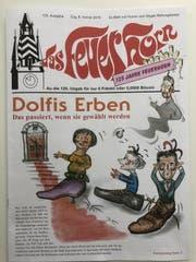 Die 125. Ausgabe von «das Feuerhorn» wagt einen umfassenden Blick in den Wahlherbst. (Bild: PD)