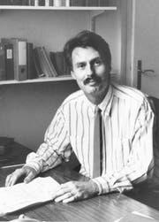 Toni Göpfert (damals offiziellerweise Anton geschrieben) bei seinem Amtsantritt. (Bild: Archiv Neue LZ)