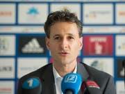 Philipp Studhalter offiziell als neuer Präsident im FC Luzern gewählt (Bild: KEYSTONE/URS FLUEELER)