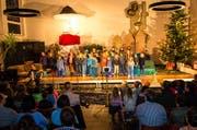 Eine Krippenspiel-Aufführung in der reformierten Johanneskirche in Kriens. (Bild: Roger Gruetter)