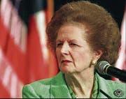 Eiserne Lady: Margaret Thatcher. (Bild: AP)