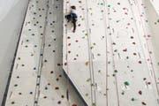 Die Kletterhalle bei der Swiss Life Arena steht vor dem Aus. (Symbolbild) (Bild: Manuela Jans / Neue LZ)