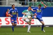 Für den FC Luzern gehts gegen St. Gallen um wichtige Punkte. (Bild: Philipp Schmidli/Neue LZ)