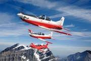 Solche Trainingsflugzeuge des TYps PC 7 MK II kauft die indische Luftwaffe. (Bild: PD)