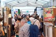 Das Interesse der Besucher war gross. (Bild: Maria Schmid / Neue ZZ)