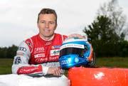 Marcel Fässler (39) aus Einsiedeln zählt zu den Favoriten beim 24-Stunden-Rennen von Le Mans. (Bild: Keystone / Jean-Christophe Bott)
