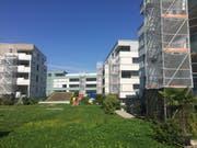 Balkone bei diesen Wohnungen im Quartier Feldmatt müssen saniert werden. (Bild: René Meier (Ebikon, 16. August 2017))