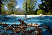 Der Luzerner Stadtrat will eine umfangreiche Sanierung des Zimmereggbads in Littau prüfen. (Bild: Nadia Schärli (Littau, 15. April 2014))