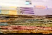 10er- bis 1000er-Note: Das Bundesgesetz soll soweit angepasst werden, dass die bestehende Stückelung der Schweizer Banknoten ins Bundesgesetz verankert wird. (Bild: Keystone)
