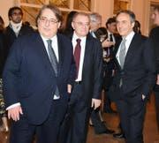 Roberto Napoletano (55, links), Chefredaktor von «Il Sole 24 ore». (Bild: Getty)