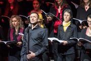 Solist David Morell. (Bild: Christian H. Hildebrand (Zug, 17. März 2018))