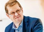SPD-Vizechef Ralf Stegner wird dem linken Parteiflügel zugerechnet. (Bild: Michael Gottschalk/Getty (Frankfurt, 14. Oktober 2017))