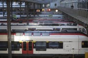 Bahnhof Luzern (Bild: Urs Flüeler/Keystone)