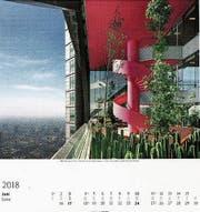 Vielfältigste Kalenderthemen (v. l.): Moderne Architektur, Vögel, Der Blaue Reiter (alle Weingarten), Subway Stations (Delius & Klasing).