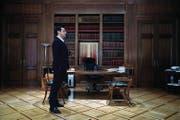 Premierminister Alexis Tsipras am Regierungssitz. (Bild: Thanassis Stavrakis (Athen, 15. Februar 2017))