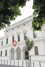 Das Bundesstrafgericht in Bellinzona. (Bild: Gabriele Putzu/Keystone/Ti-Press)
