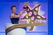 Nadja Räss erhielt 2015 den Prix Walo in der Kategorie Jodel. (Bild: Ennio Leanza / Keystone (Zürich, 7. Juni 2015))