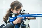 Petra Lustenberger (Sportschiessen Gewehr, 26, Rothenburg). (Bild: Boris Bürgisser)