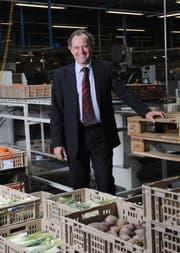 Felix Meyer, Geschäftsleiter der Migros Luzern, blickt auf ein erfolgreiches Geschäftsjahr 2013 zurück. (Archivbild Boris Bürgisser / Neue LZ)