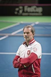 Heinz Günthardt: «Ich schliesse nicht aus, dass Djokovic noch länger ausfällt.» (Bild: Pius Amrein)