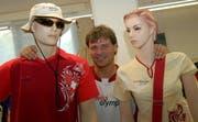 Nach Peking 2008 (im Bild) darf Oli Fuchs auch für Vancouver 2010 die Kleider für die Schweizer Olympiateilnehmer entwerfen. (Bild Oliver Mattmann/Neue NZ)
