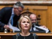 Die Zürcher SVP-Nationalrätin Natalie Rickli, die die No-Billag-Initiative befürwortet hat, sieht trotz der Niederlage positive Aspekte. (Archivbild) (Bild: Alessandro Della Valle/Keystone)