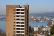Ein Hochhaus in Zug. (Bild Stefan Kaiser/Neue ZZ)