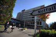 Das Kantonsspital Uri in Altdorf soll um- und Ausgebaut werden. (Bild: Archiv Urs Hanhart / Neue UZ)