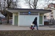WC-Anlage Maihof/Schlossberg. (Bild Beatrice Vogel)