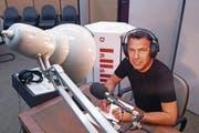 Kurt Zurfluh 1999 als Radiojournalist. (Bild: Archiv LZ)