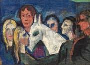 Seltenes Zusammentreffen: mystisch-unheimlich «Der Traum» (1914–1925 ) von Heinrich Daniot. (Bild: F. X. Brun/PD)