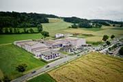 Ein Blick auf die Feuerwerksfabrik Bugano in Neudorf. (Bild: Pius Amrein/LZ, 05.07.2014)