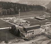 Die KVA Ibach im Jahr 1970. (Bild: zvg / Hans Luternauer)