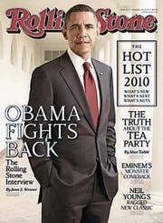 Barack Obama zierte auch schon das Cover. (Bild: PD)