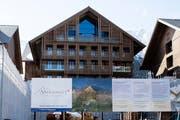 Luxushotel «Chedi» in Andermatt. (Archivbild Manuela Jans / Neue LZ)