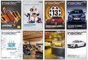 Cover des Zentralschweizer Magazins Insider. (Bild: PD)