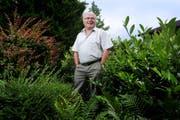 Theo Niederberger wird mit dem Anerkennungspreis der Gemeinde Horw ausgezeichnet. (Bild: Archiv Boris Bürgisser/Neue LZ)