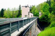 Das Etzelwerk am Sihlsee. (Bild: PD)