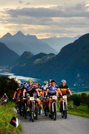 5. Lauf der Swiss Bike Marathon Series an der o-tour in Alpnach, am Sonntag, 13. September 2015. (Bild: Martin Platter)